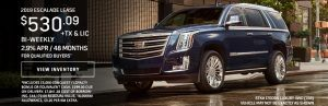 2019 Escalade Specials Markham