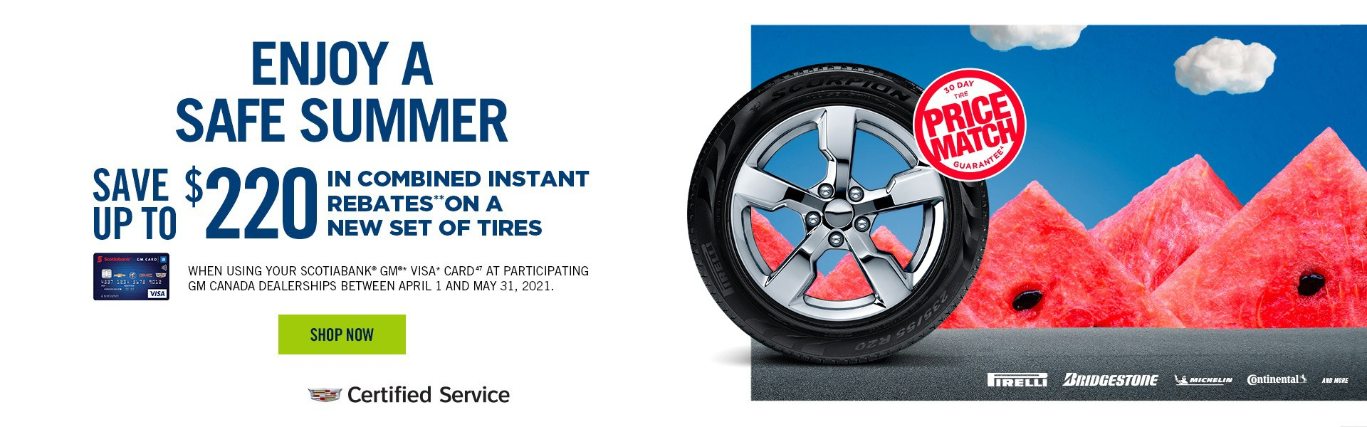 Cadillac Summer Tires